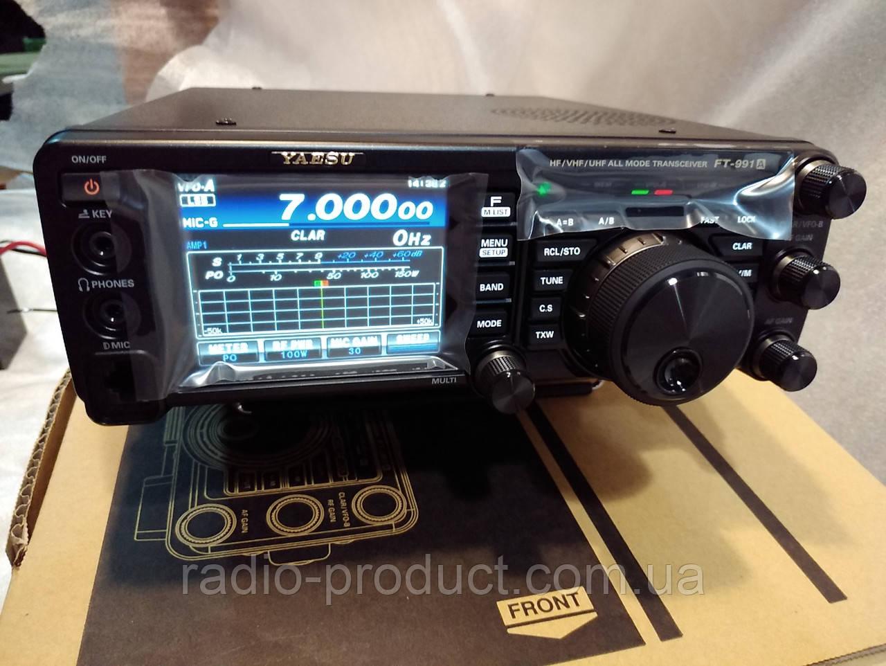 """Yaesu FT-991A, КВ+УКВ трансивер, радиостанция: доставка по Украине переговорные устройства от """"МИР РАДИО"""" - 524011567"""