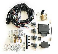 Комплект Romano ECO 100кВт на 4 цилиндра (электроника с проводкой, редуктор, газовый клапан, газовые форсунки)