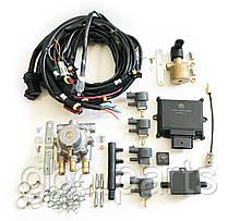 Комплект Romano ECO 100кВт на 4 циліндра (електроніка з проводкою, редуктор, газовий клапан, газові форсунки)
