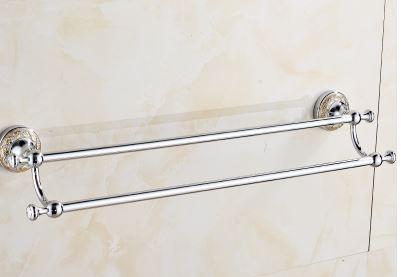 Вешалка для полотенец настенная в ванную или на кухню 0548