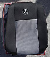 Авточехлы VIP MERCEDES 609 (REX) (2+1) 1986-1996 автомобильные модельные чехлы на для сиденья сидений салона MERCEDES MERCEDES-BENZ Мерседес 609