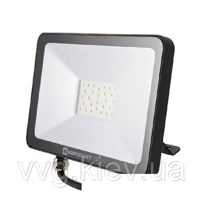 Прожектор светодиодный ЕВРОСВЕТ 20Вт 6400K EV-20-504 PRO 1800Лм (000039735)