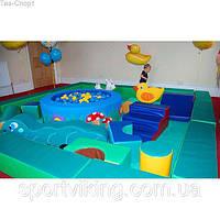 Внимание новинки! Мягкие игровые модули для детских игровых комнат TIA-SPORT.