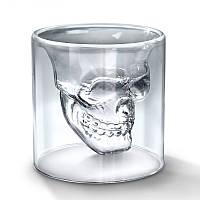 🔝 Необычный стакан с 3D черепом Doomed (1 шт.), рюмка Череп, с доставкой по Киеву и Украине | 🎁%🚚, фото 1
