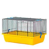Клетка для хомяков и мелких грызунов GINO EKO ™️ InterZoo G031E (420*290*260 мм)