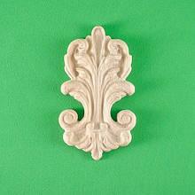 Код ДВ16. Деревянный резной декор для мебели. Декор вертикальный