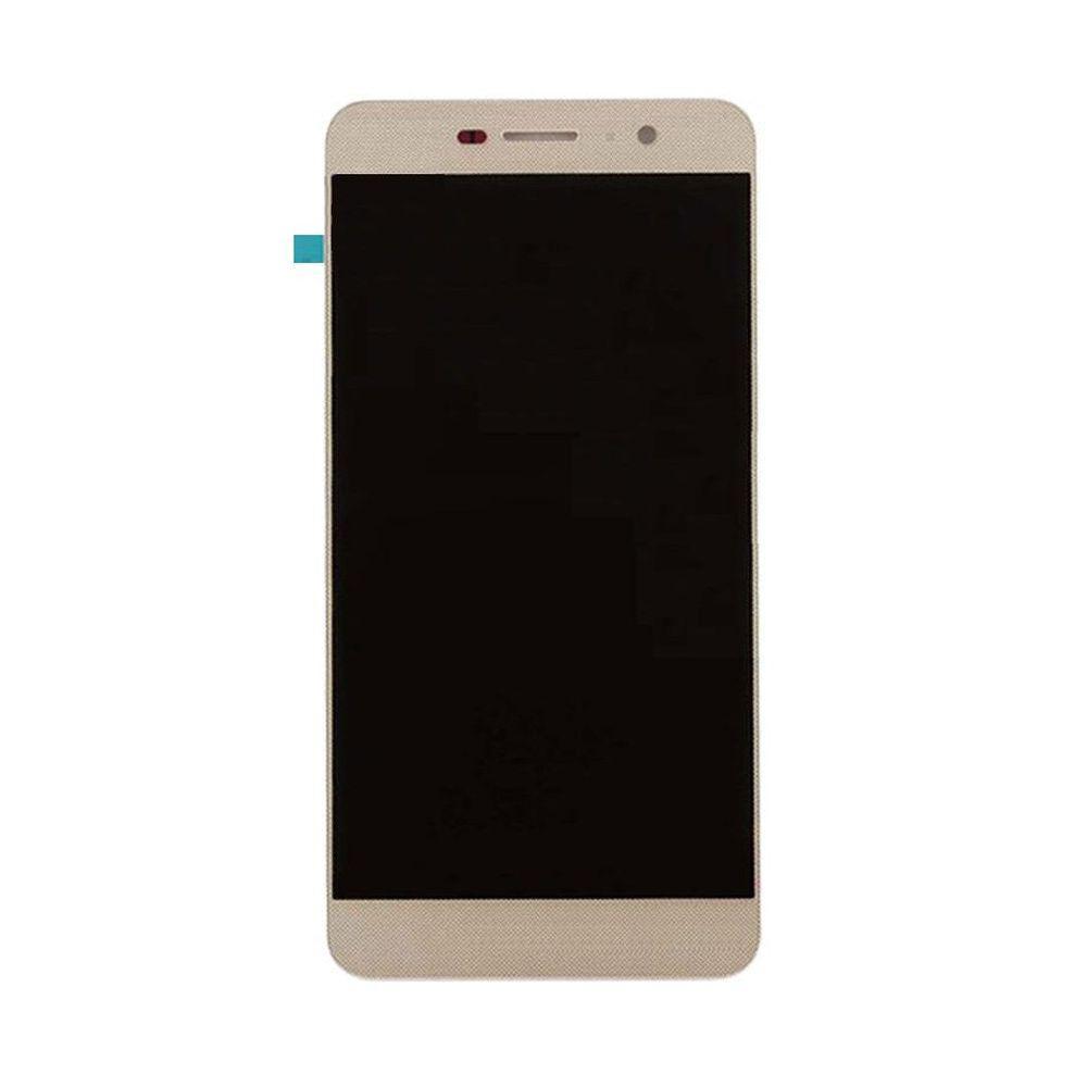 Дисплей для Huawei Y6 Pro (TIT-U02/TIT-AL00)/Enjoy 5/Honor Play 5X с тачскрином золотистый Оригинал
