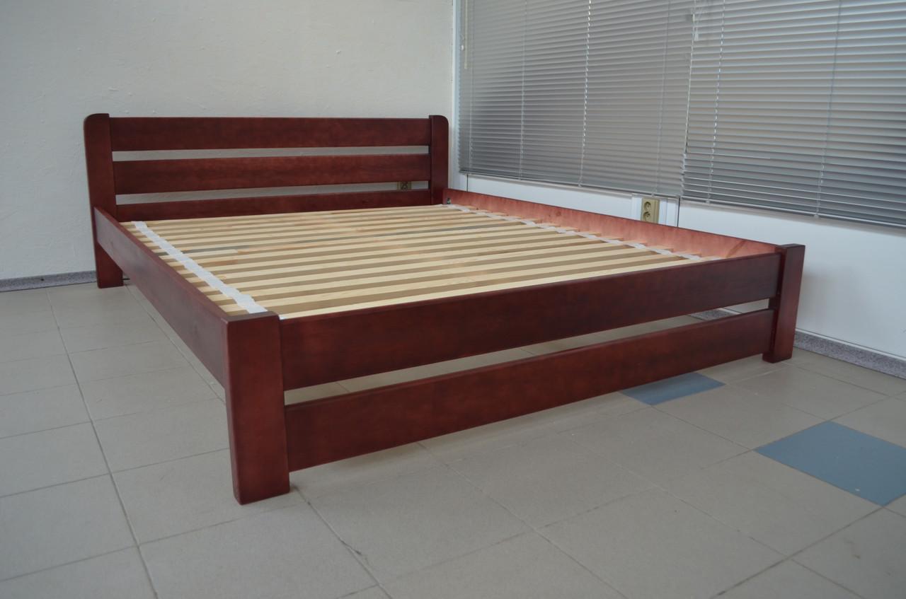 Ліжко дерев'яне Престиж 160