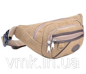 Тканевая сумка – бананка на пояс или через плечо (СТР-3018)