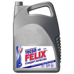 Охлаждающая жидкость тосол Felix евро (синий) -35 (10л)