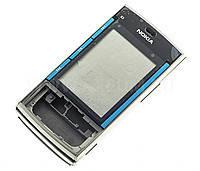 Корпус Korea H.Q. Nokia X3-00 Silver-Blue