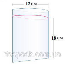 Пакеты Zip-Lock 12х18 см для упаковки и фасовки