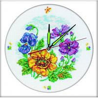 """Набор для вышивания """"Цветочные часы"""""""