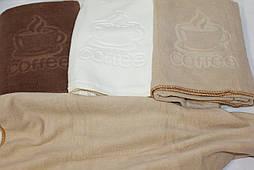 Полотенце для лица и рук Кофе (уп 6 шт.) Микрофибра