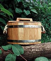 Дубовая кадка, запарник  для бани 30 л