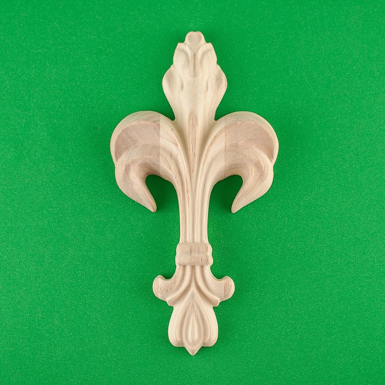 Код ДВ10. Деревянный резной декор для мебели. Декор вертикальный