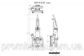 Шлифователь бетона Metabo RSEV 19-125 RT Abrasiv, фото 2