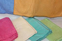 Полотенце для лица и рук  Листок (уп. 6 шт.) Микрофибра