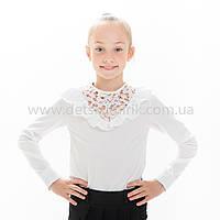"Блузка школьная белая ""Элина"", фото 1"
