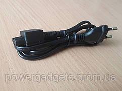 Сетевой шнур-удлинитель для блока питания 2-pin black 1m