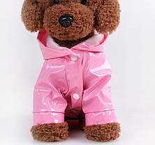 Дождевик для собак - 5 цветов, S, M, L, XL, фото 3