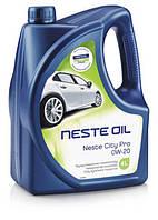 Масло моторное синтетическое Neste City Pro 0W20, 4л (нов.Pro+V 0W20)