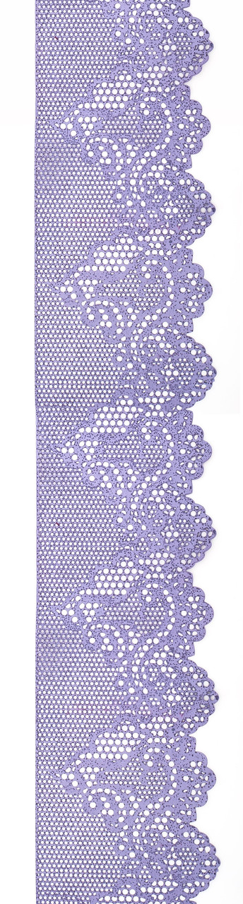 Декор кондитерський Добрик Мереживо для торта №5 лавандове 10 шт./ящ.