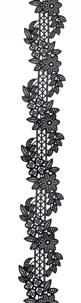 Декор кондитерський Добрик Мереживо для торта №6 чорне 10 шт./ящ.