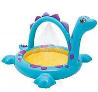 Надувной детский комплекс+фонтан, 229*165*117см, фото 1