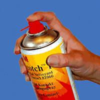 Аэрозоль 3М Scotch 1619 (400 мл.). Термостойкий силиконовый герметик.1619