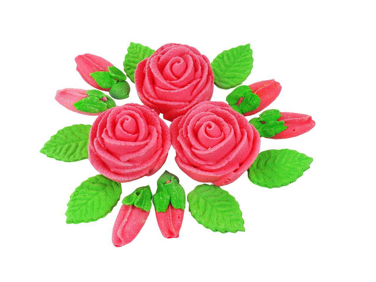 Декор кондитерський Добрик Букет троянд d-160