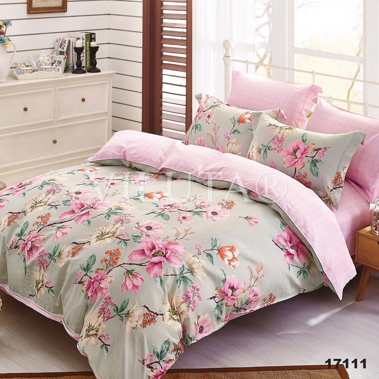 Двуспальное постельное белье Вилюта ранфорс 17111