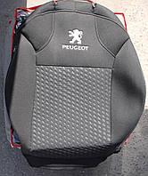 Авточехлы VIP PEUGEOT 107 2005→ автомобильные модельные чехлы на для сиденья сидений салона PEUGEOT Пежо 107