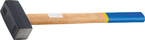 Кувалда, 7000 г, кованая головка, деревянная рукоятка// СИБРТЕХ 10934