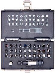 Набор бит, магнитный адаптер,сталь S2,пластиковый кейс,32 предм.//GROSS