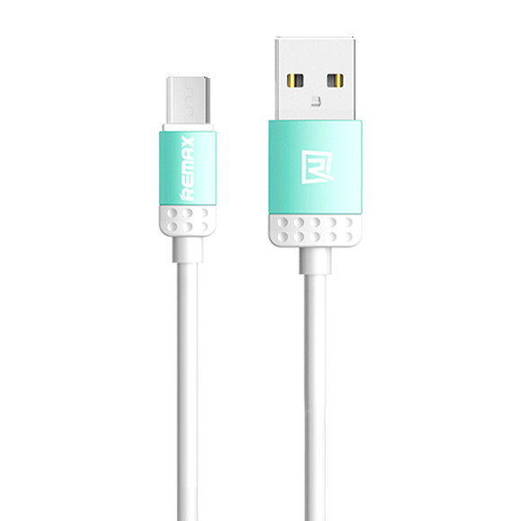 MicroUSB кабель Remax Lovely RC-010m 1m blue
