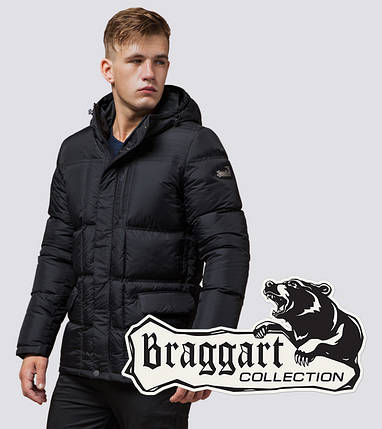 Braggart Dress Code 2609 | Куртка зимняя мужская c тинсулейтом графит, фото 2