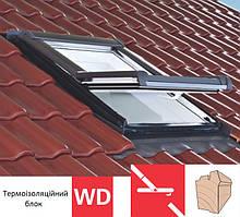 Мансардне вікно Roto Designo R45 (дерев`яне)(з термоізоляційним блоком WD) 54х98 см
