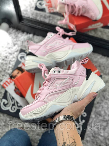 0e72ff553586 Женские кроссовки в стиле Nike M2K Tekno Pink, розовые  продажа ...