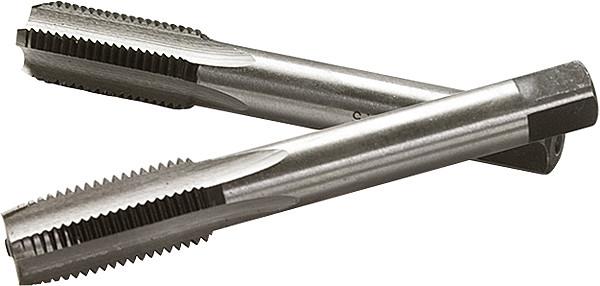 Метчик ручной М8 х 1,25 мм, комплект из 2 шт.// СИБРТЕХ