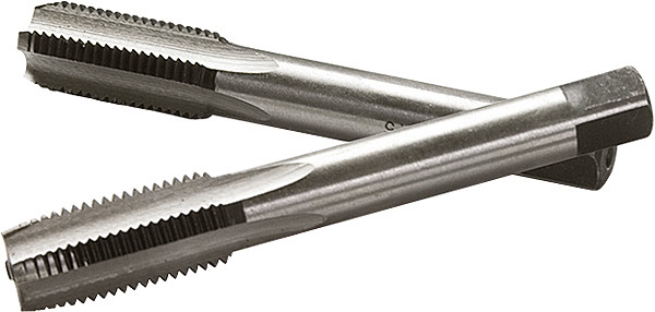 Метчик ручной М10 х 1,5 мм, комплект из 2 шт.// СИБРТЕХ