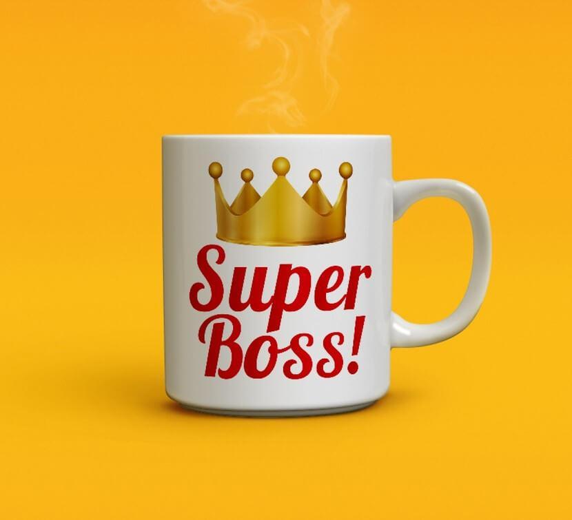 Чашка Super Boss