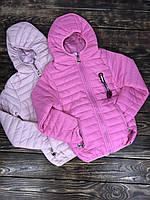 Куртка с капюшоном стеганая(весна осень), фото 1