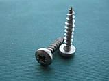 WS 9110 : нержавеющий шуруп универсальный с полукруглой головкой и полной резьбой, фото 3