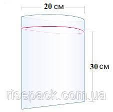 Пакети Zip-Lock 20х30 см для пакування та фасування