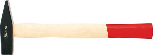 Молоток слесарный, 300 г, квадратный боек, деревянная рукоятка// MTX
