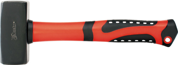 Кувалда, 1000 г, фибергласовая обгумована ручка// MTX