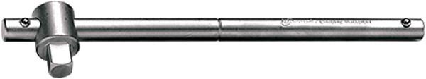 """Вороток, 250 мм, квадрат 1/2"""", CrV, хромированный МТХ."""