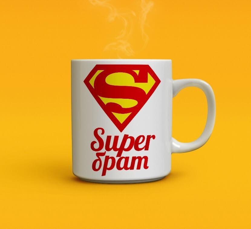Чашка Super Брат