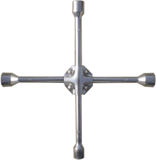 Ключ крестообразный баллонный, 17x19x21мм,квадрат 1/2, усиленный, толщина 16 мм МТХ Professional